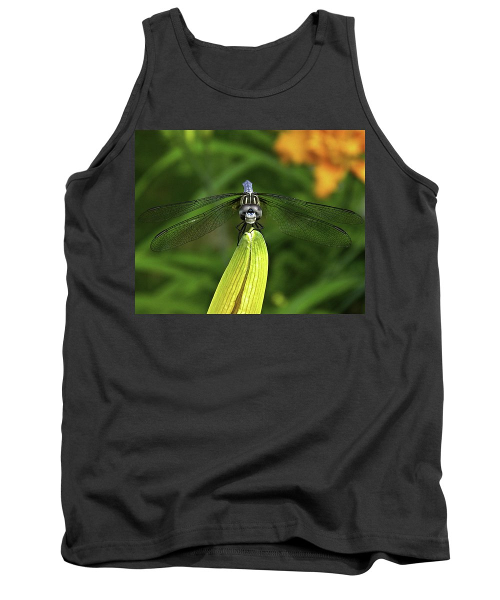 Dragonfly. Insect Tank Top featuring the photograph Dragon by James Ekstrom