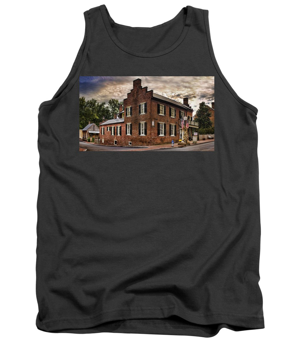 Blair-moore House Tank Top featuring the photograph Dramatic by Heather Applegate