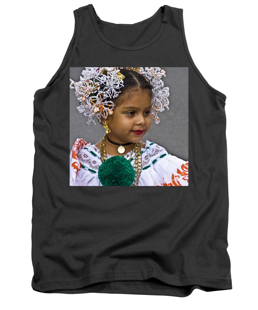 Girl Tank Top featuring the photograph Dressed For Festivity by Heiko Koehrer-Wagner
