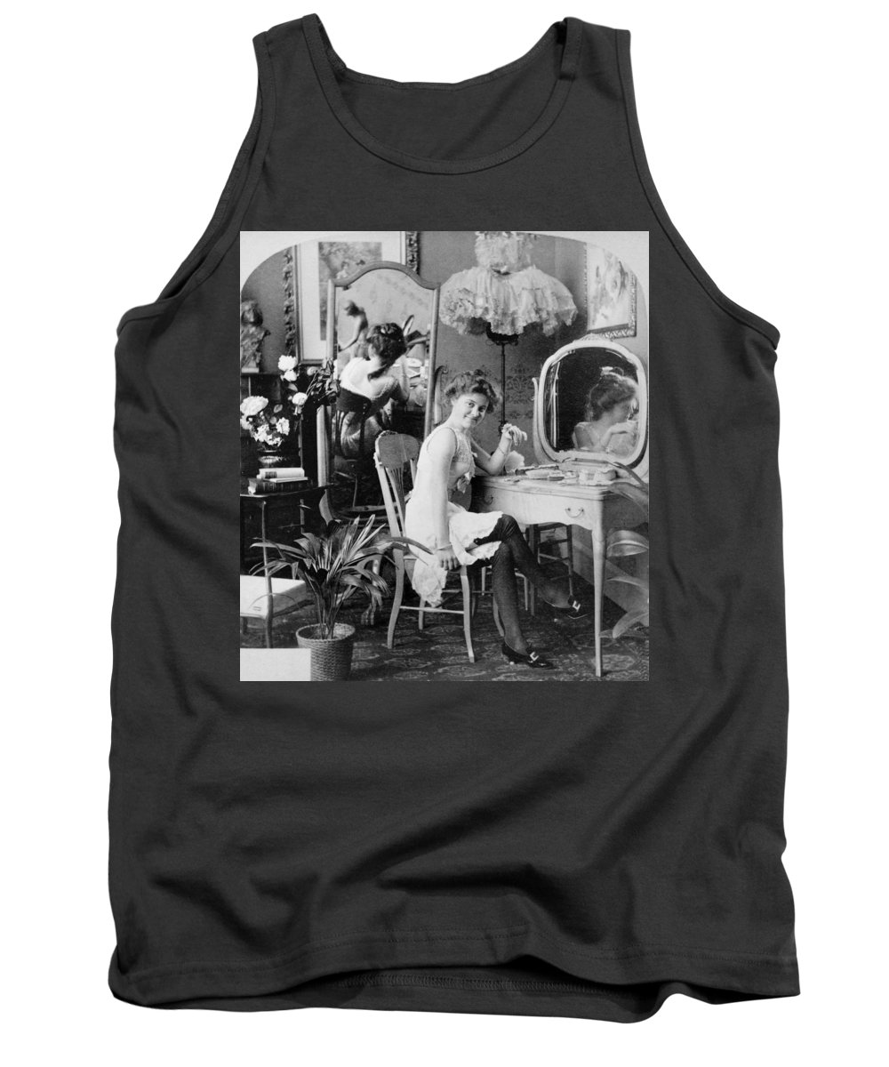 1890 Tank Top featuring the painting Dressing Room, C1900 by Granger