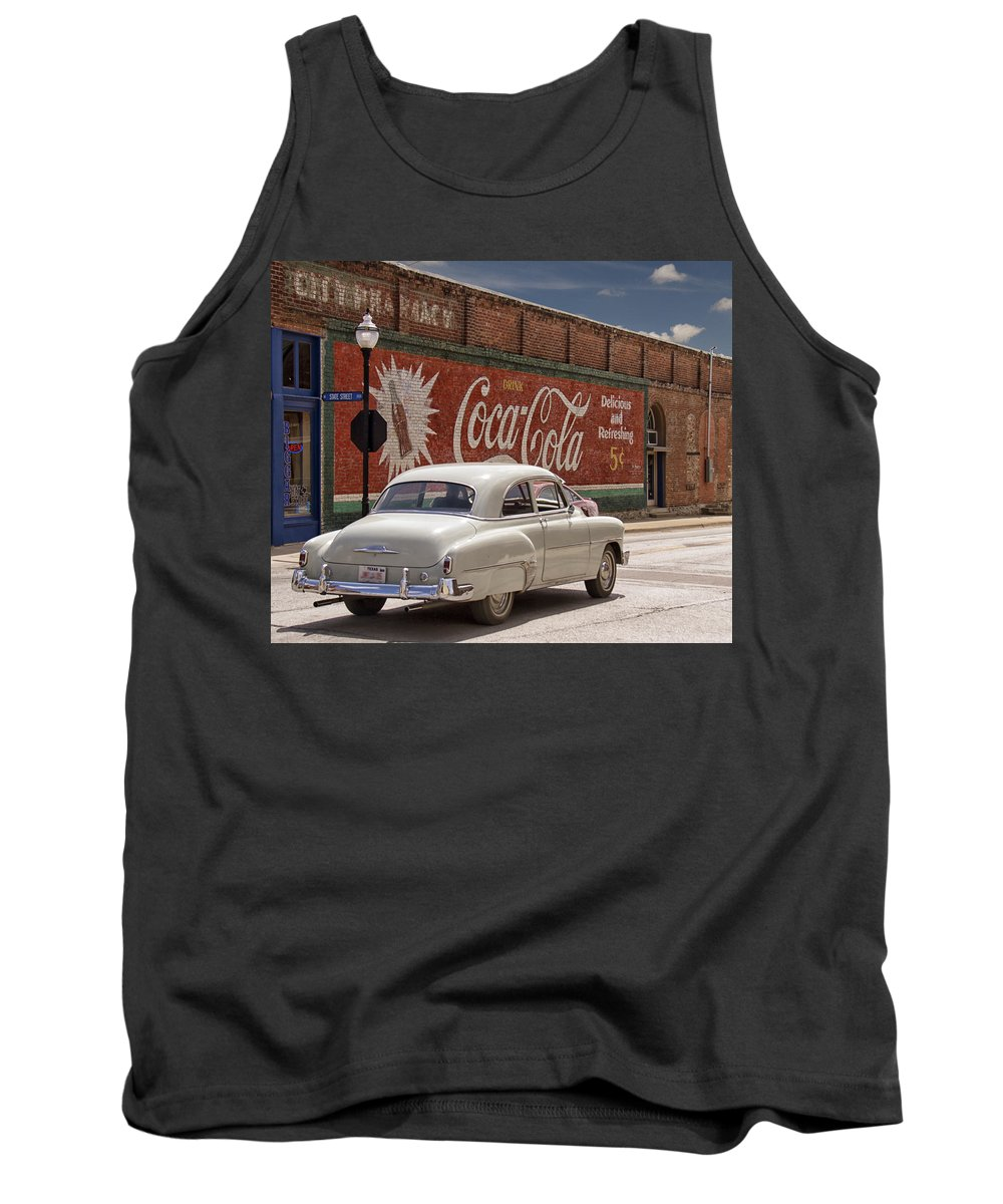 Coca-cola Tank Top featuring the photograph Drink Coca-cola by Debby Richards