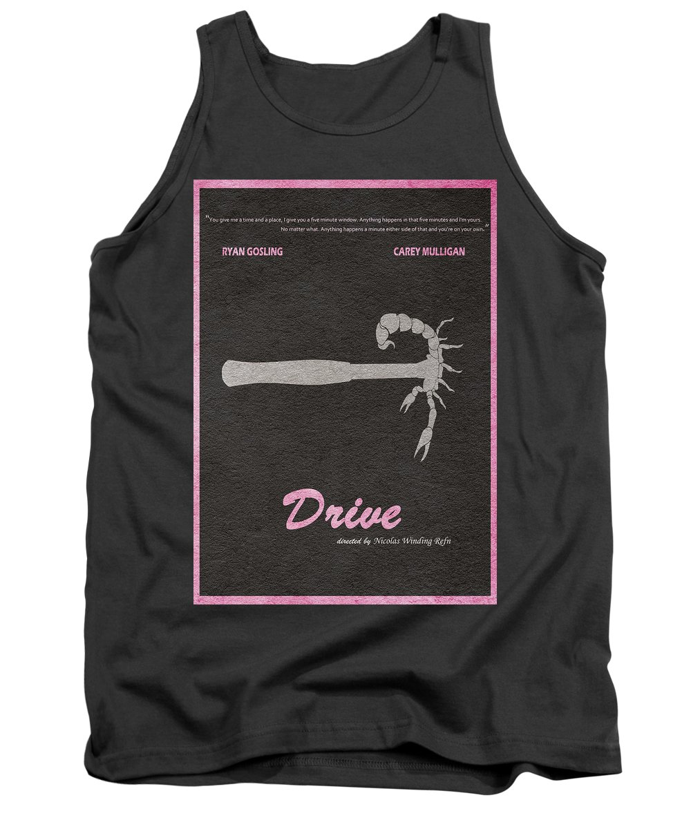 Drive Tank Top featuring the digital art Drive by Inspirowl Design