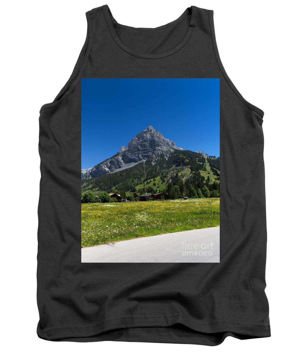Duedenhorn Tank Top featuring the photograph Duendenhorn Mountain by Carsten Reisinger