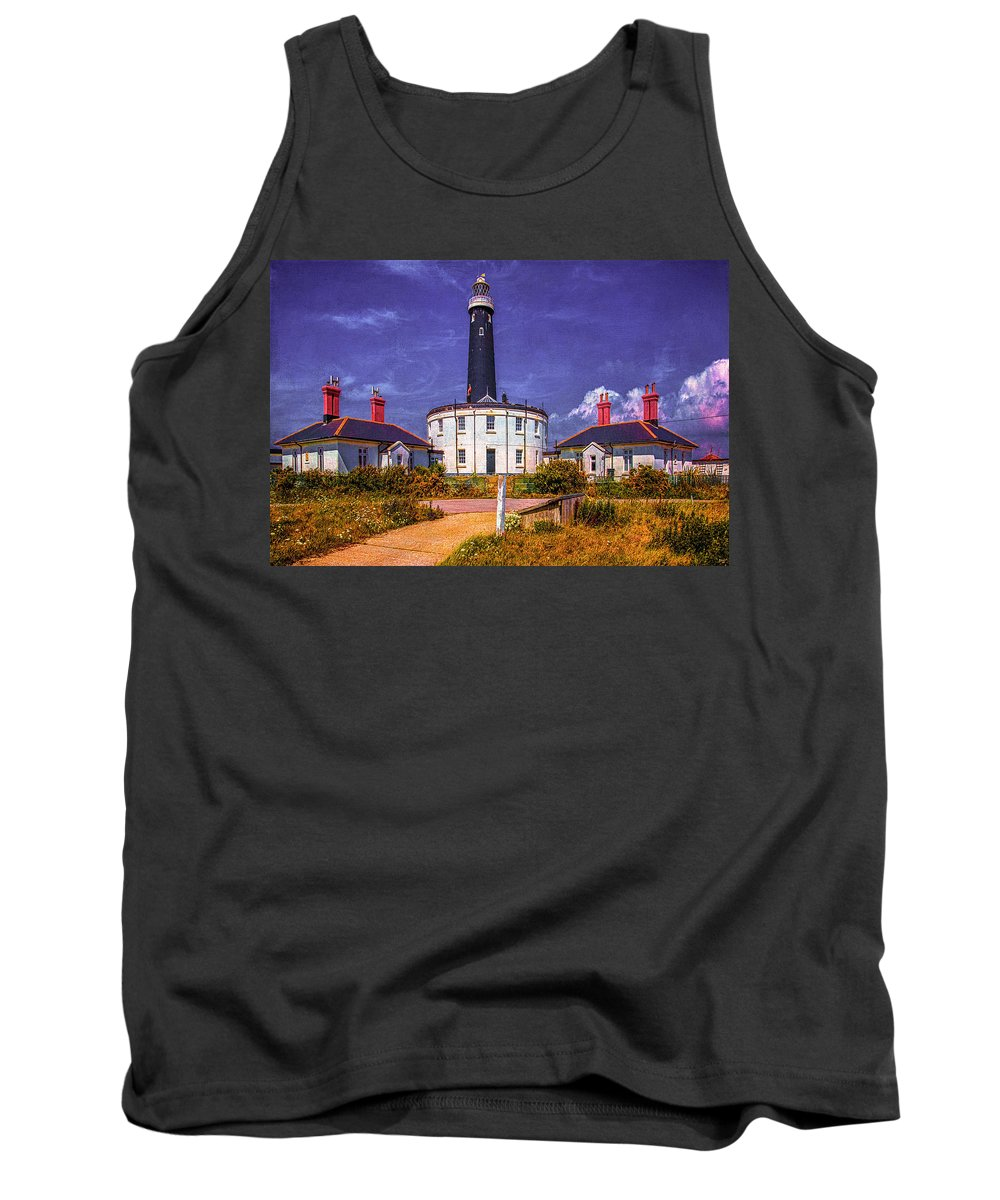Lighthouse Tank Top featuring the photograph Dungeness Old Lighthouse by Chris Lord