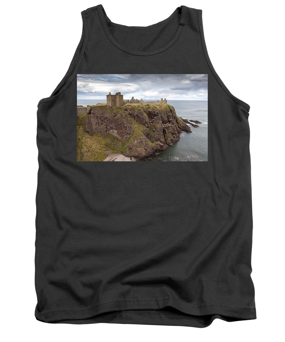Dunnottar Tank Top featuring the photograph Dunnottar Castle by Eunice Gibb