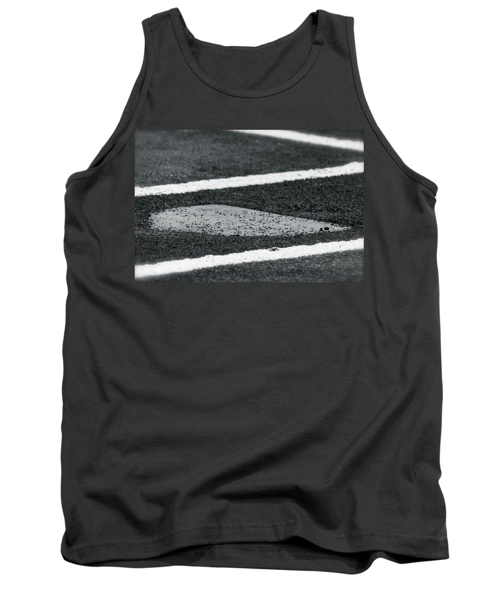 Baseball Tank Top featuring the photograph Dust Covered Home by Laddie Halupa