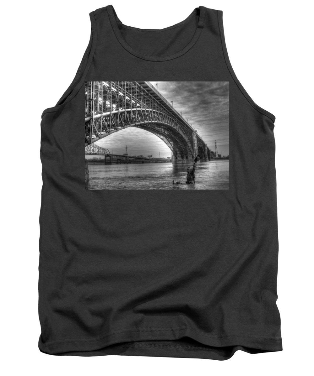 Eads Bridge Tank Top featuring the photograph Eads Bridge by Jane Linders