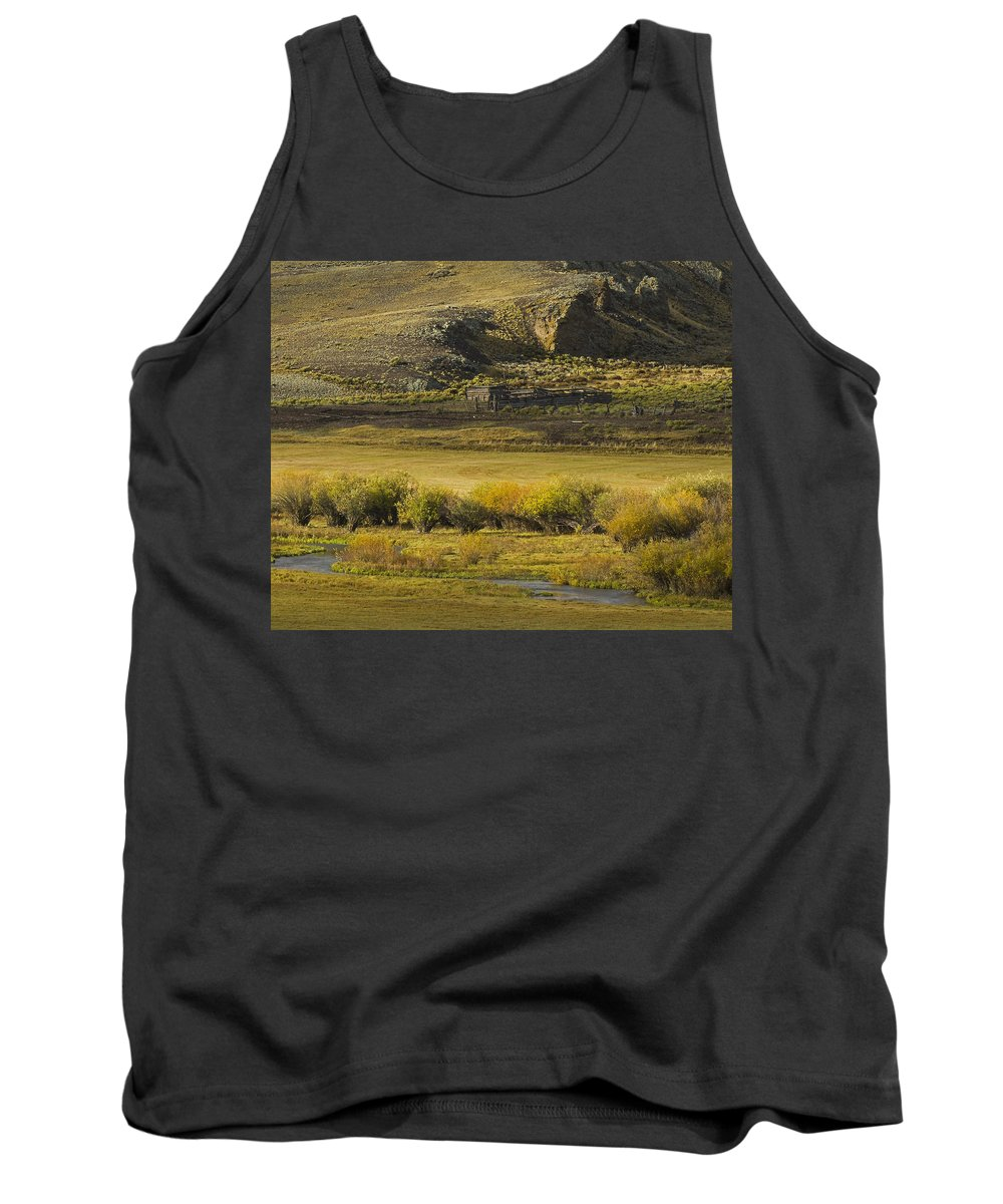 Colorado Photographs Tank Top featuring the photograph Early Fall Sunrise by Gary Benson