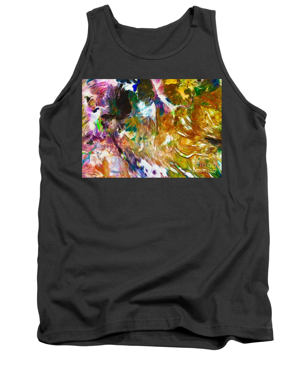 Ethiopia Tank Top featuring the digital art Eastern Ethiopia by Phill Petrovic