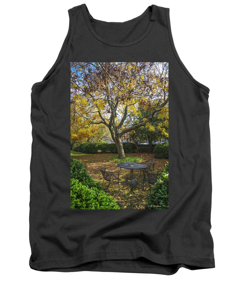 2d Tank Top featuring the photograph Easton Garden by Brian Wallace