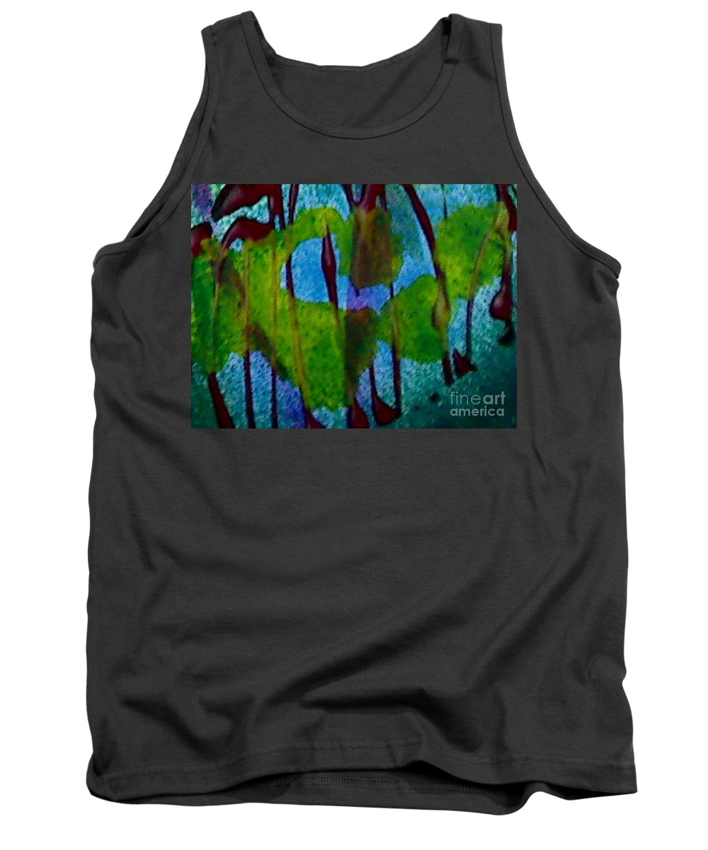 Acrylic Tank Top featuring the painting Eco by Mark Herman