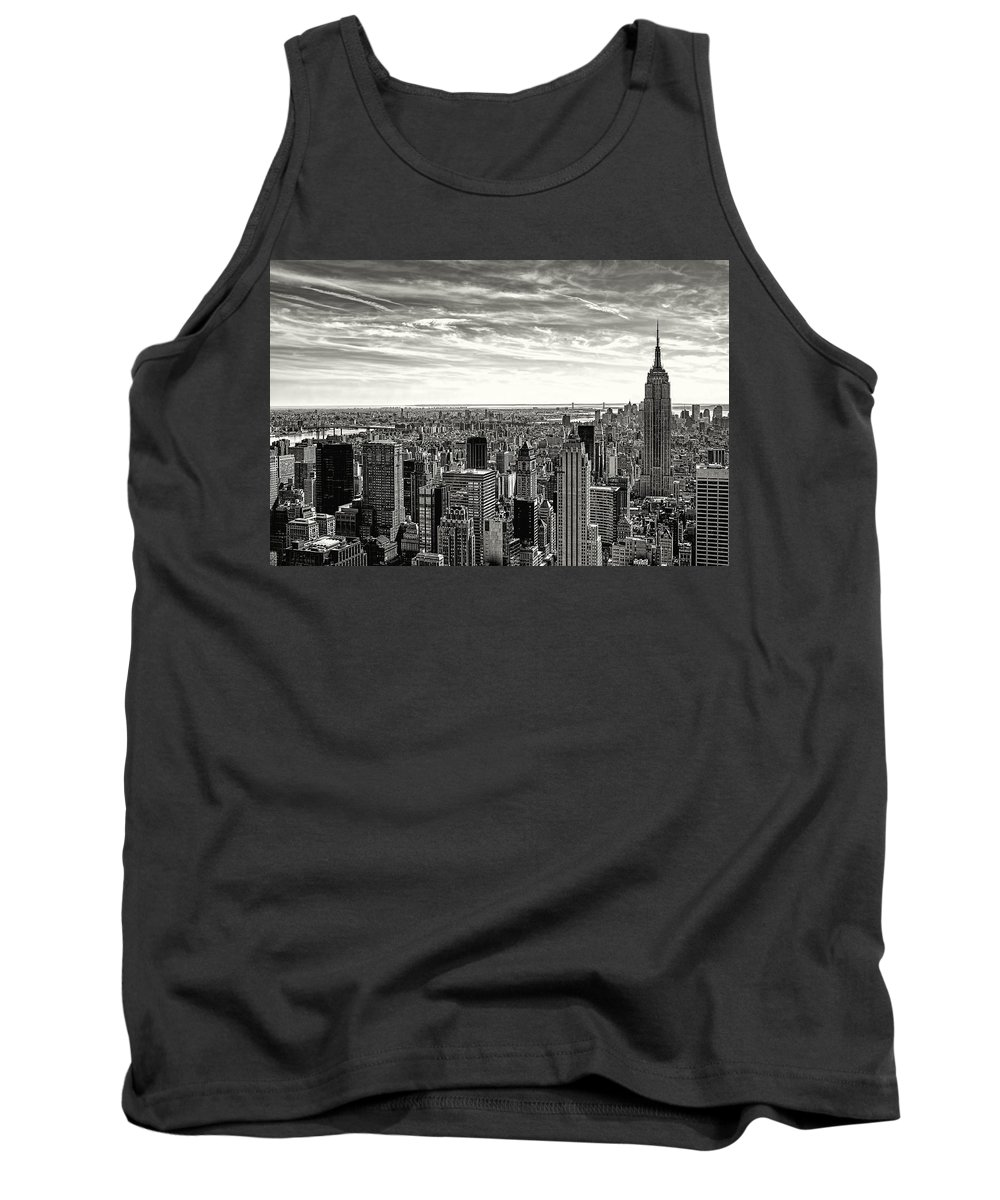 Empire State Building Tank Top featuring the photograph Empire State Of Mind by Glenrick Kerr