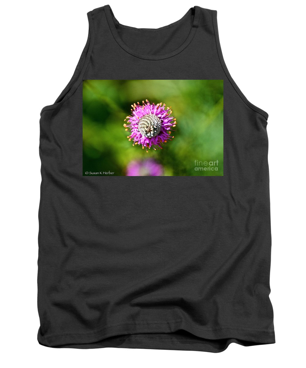 Flower Tank Top featuring the photograph Encircled by Susan Herber