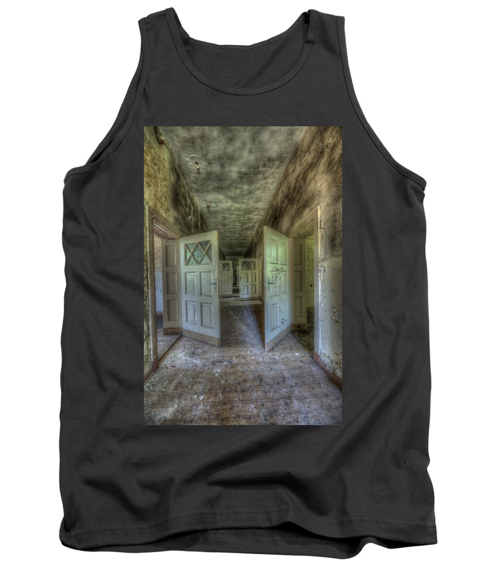 Forgotten Tank Top featuring the digital art End Of Lessons by Nathan Wright