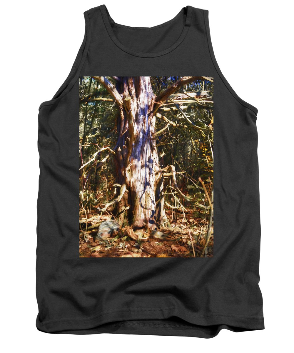 Landscape Tank Top featuring the photograph Enfolding The Light by Jo-Anne Gazo-McKim