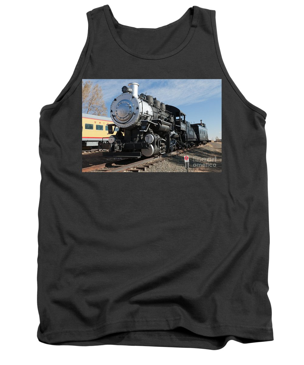 Colorado Tank Top featuring the photograph Engine 4455 In The Colorado Railroad Museum by Fred Stearns