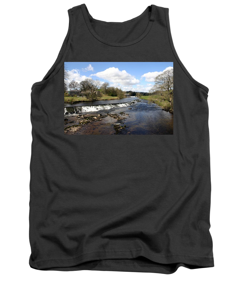 Travel Tank Top featuring the photograph English Fjord by Scott Perkins