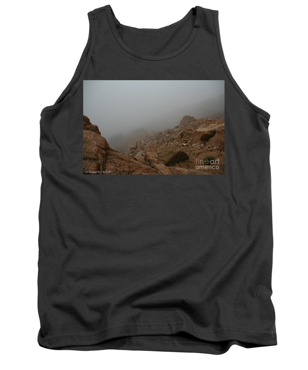 Pikes Peak Tank Top featuring the photograph Engulfing by Susan Herber