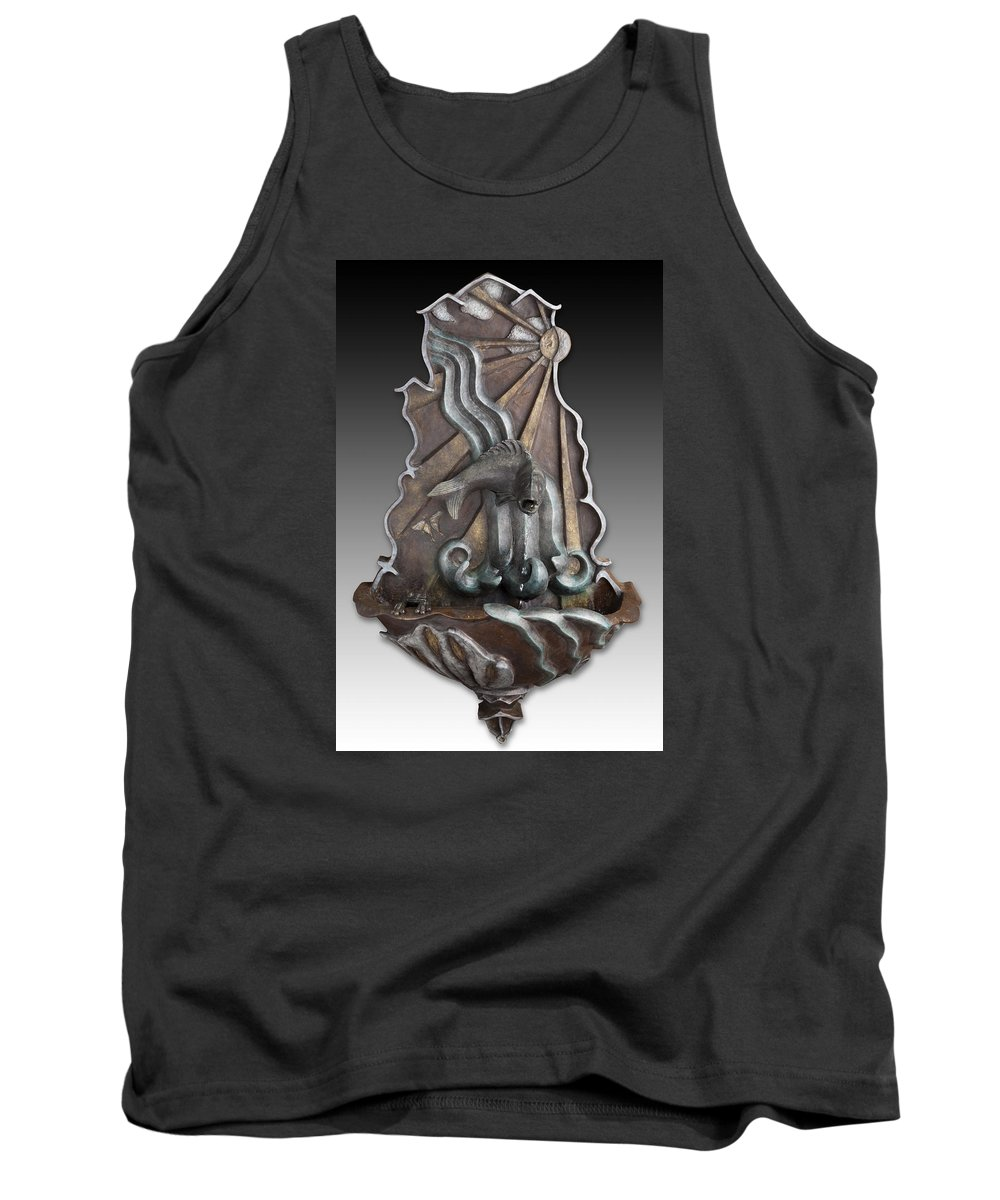 Bronze Tank Top featuring the photograph Enlightenment by Valerie Jean Schafer