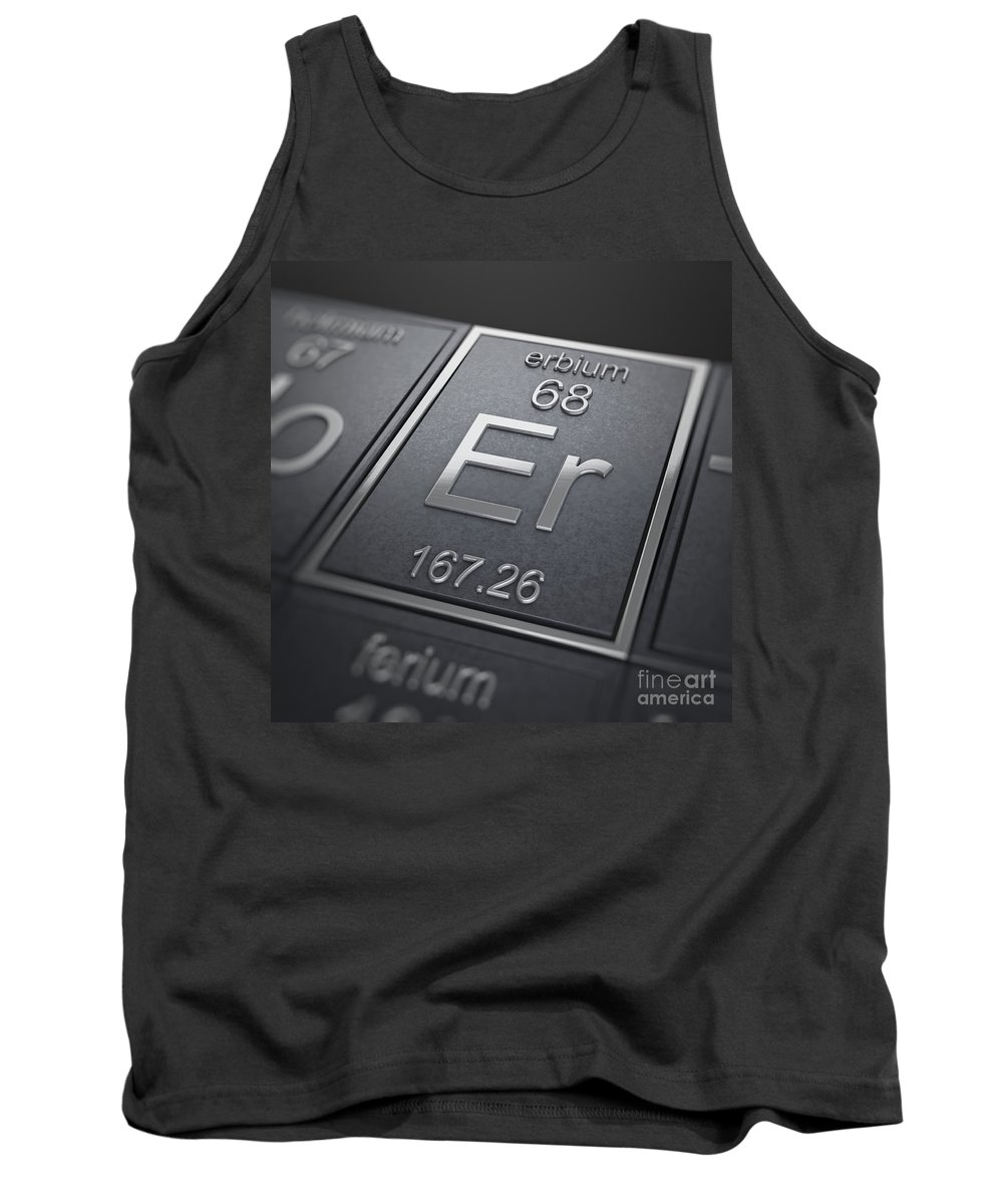 Erbium Tank Top featuring the photograph Erbium Chemical Element by Science Picture Co