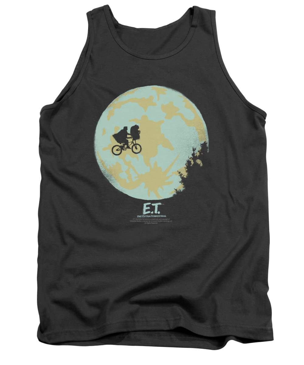 Et Tank Top featuring the digital art Et - In The Moon by Brand A