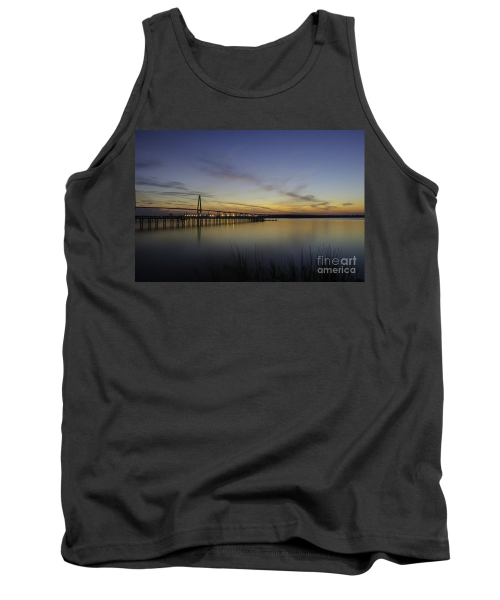 Sunset Tank Top featuring the photograph Evening Shades by Dale Powell