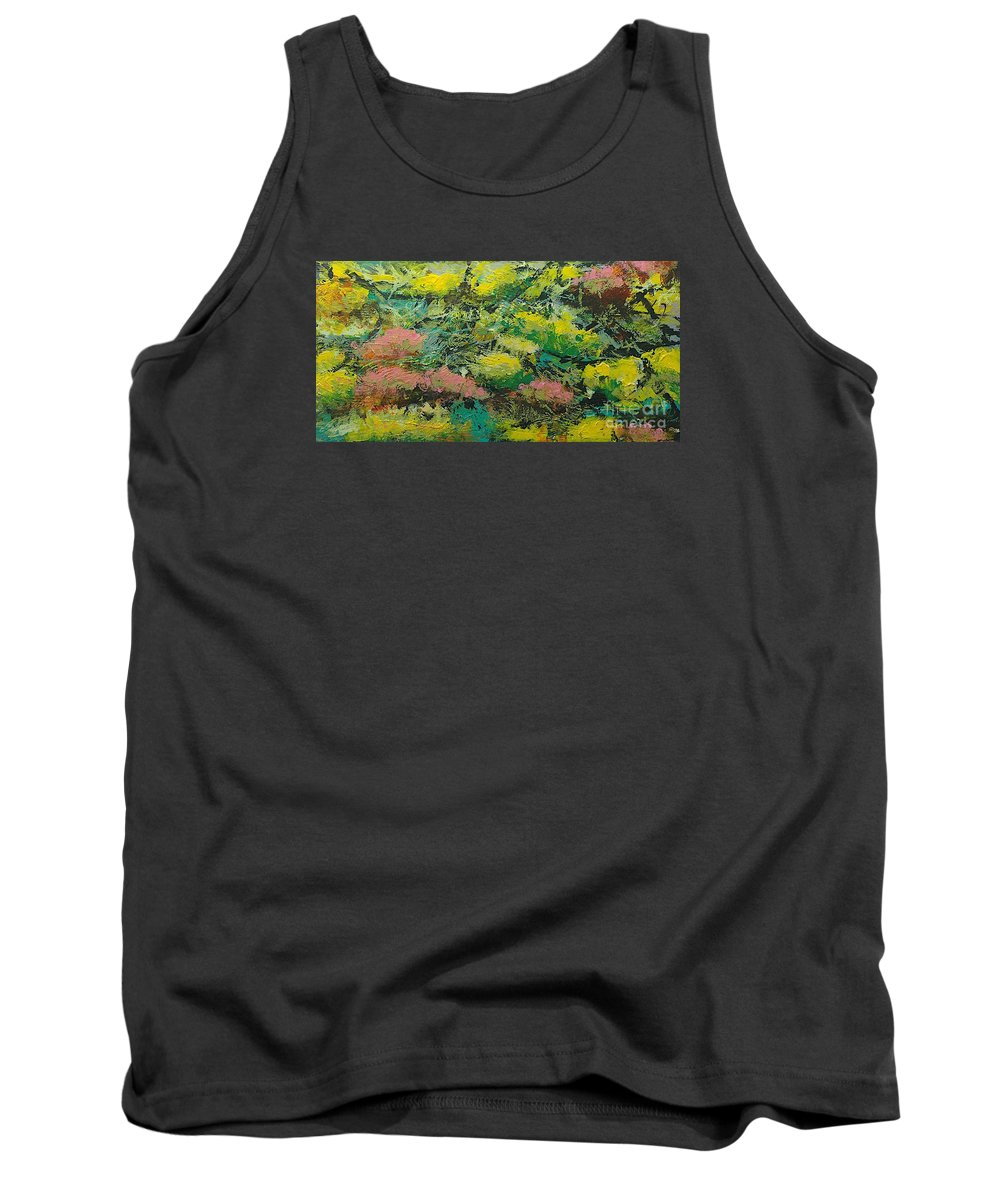 Landscape Tank Top featuring the painting Extract by Allan P Friedlander