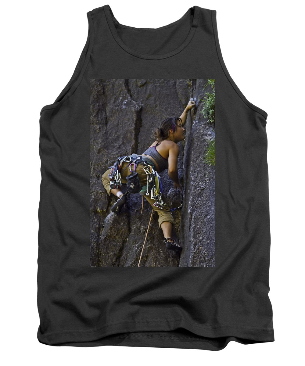 Adrenalin Tank Top featuring the photograph Extreme Sports by Brian Williamson