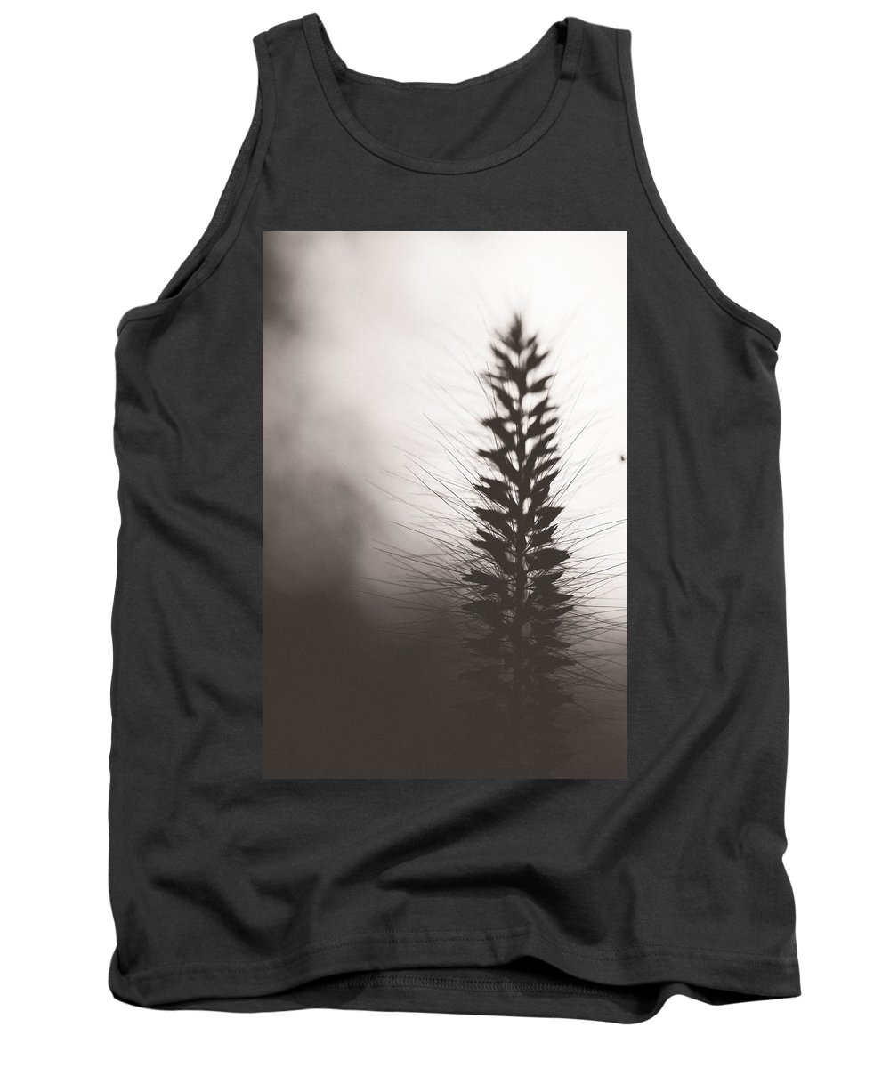 Grass Tank Top featuring the photograph Fade Into You by Shane Holsclaw
