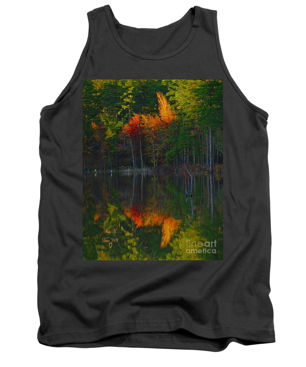 Fall Tank Top featuring the photograph Fall Beauty by Donna Brown