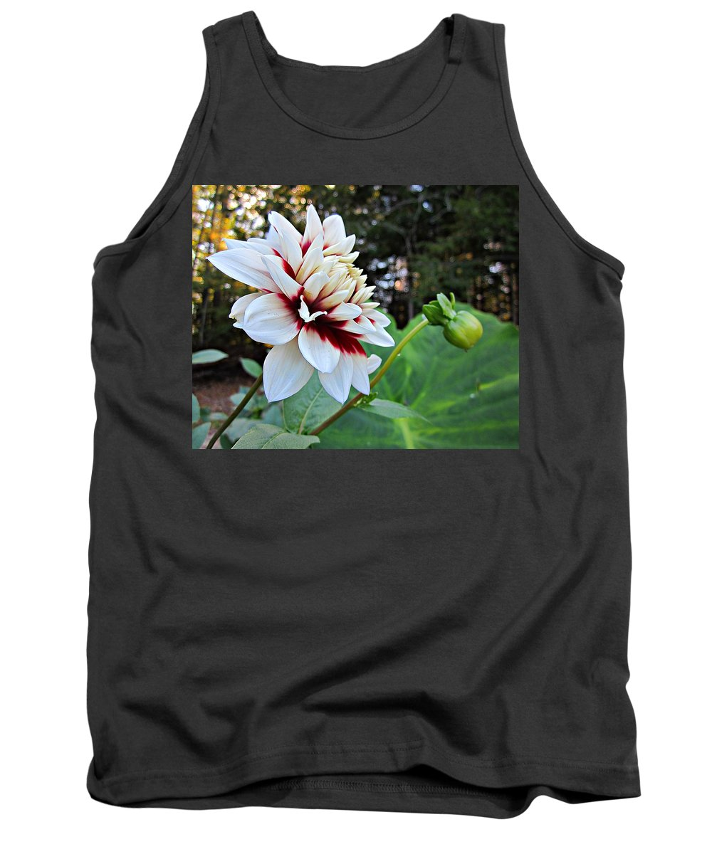 Tank Top featuring the photograph Fall Dahlia by MTBobbins Photography