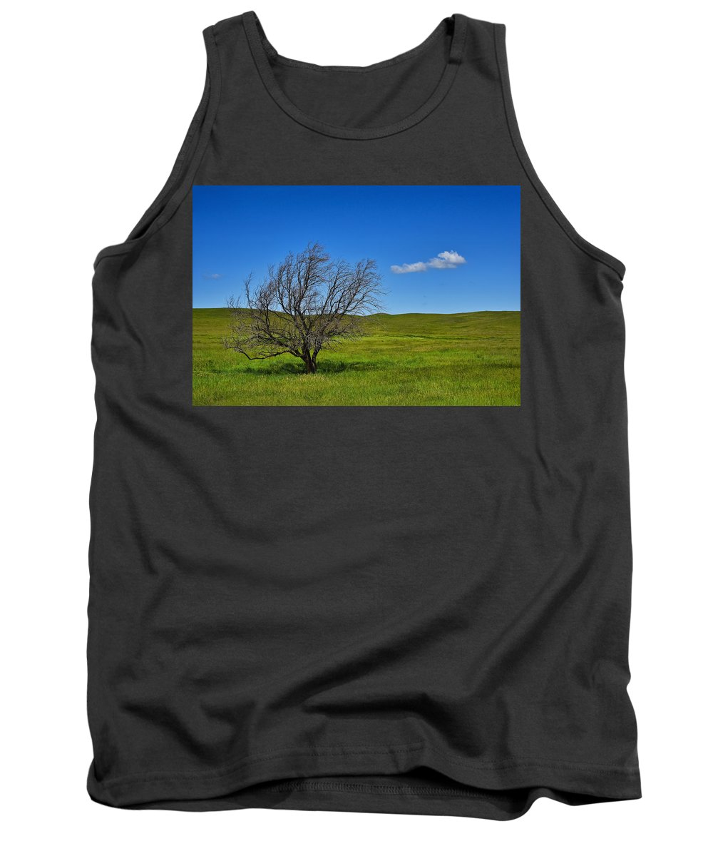 Fare Well Tank Top featuring the photograph Fare Well by Skip Hunt