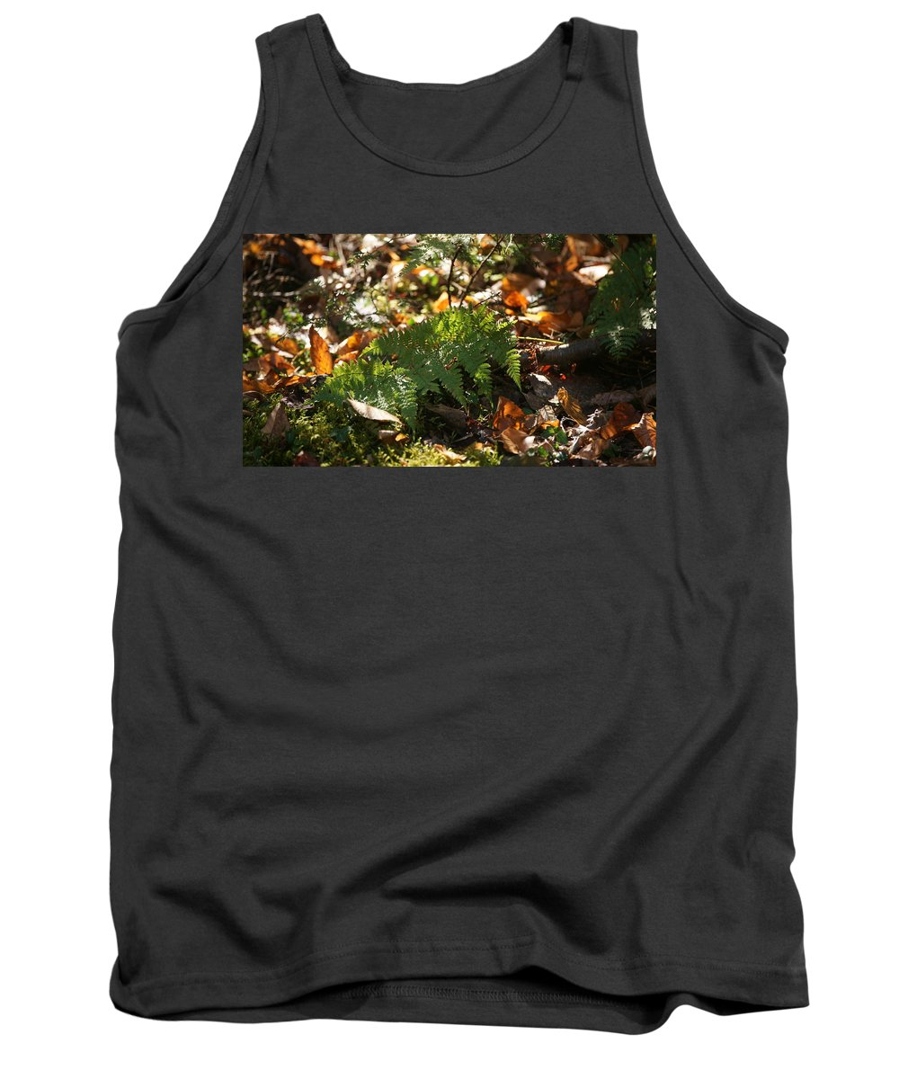 Green Tank Top featuring the photograph Fern by Crystal Harman