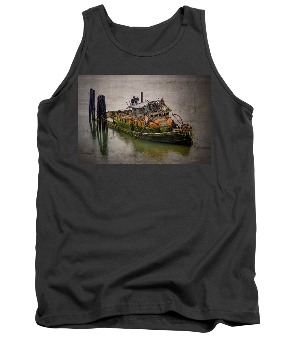 Abandoned Tank Top featuring the photograph Final Rest by Debra and Dave Vanderlaan