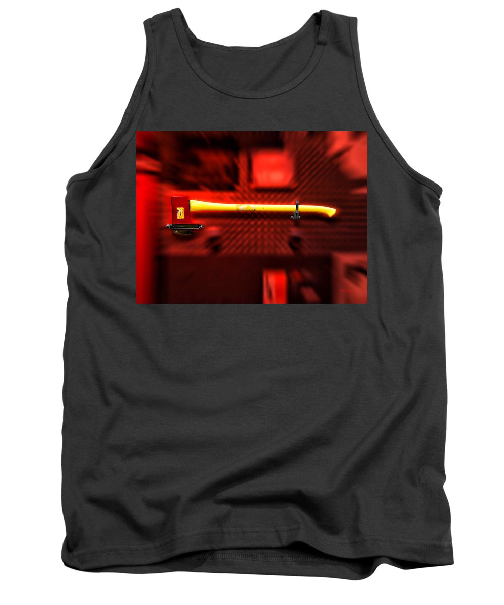 Fireman Tank Top featuring the photograph Firemen Ax by Thomas Woolworth