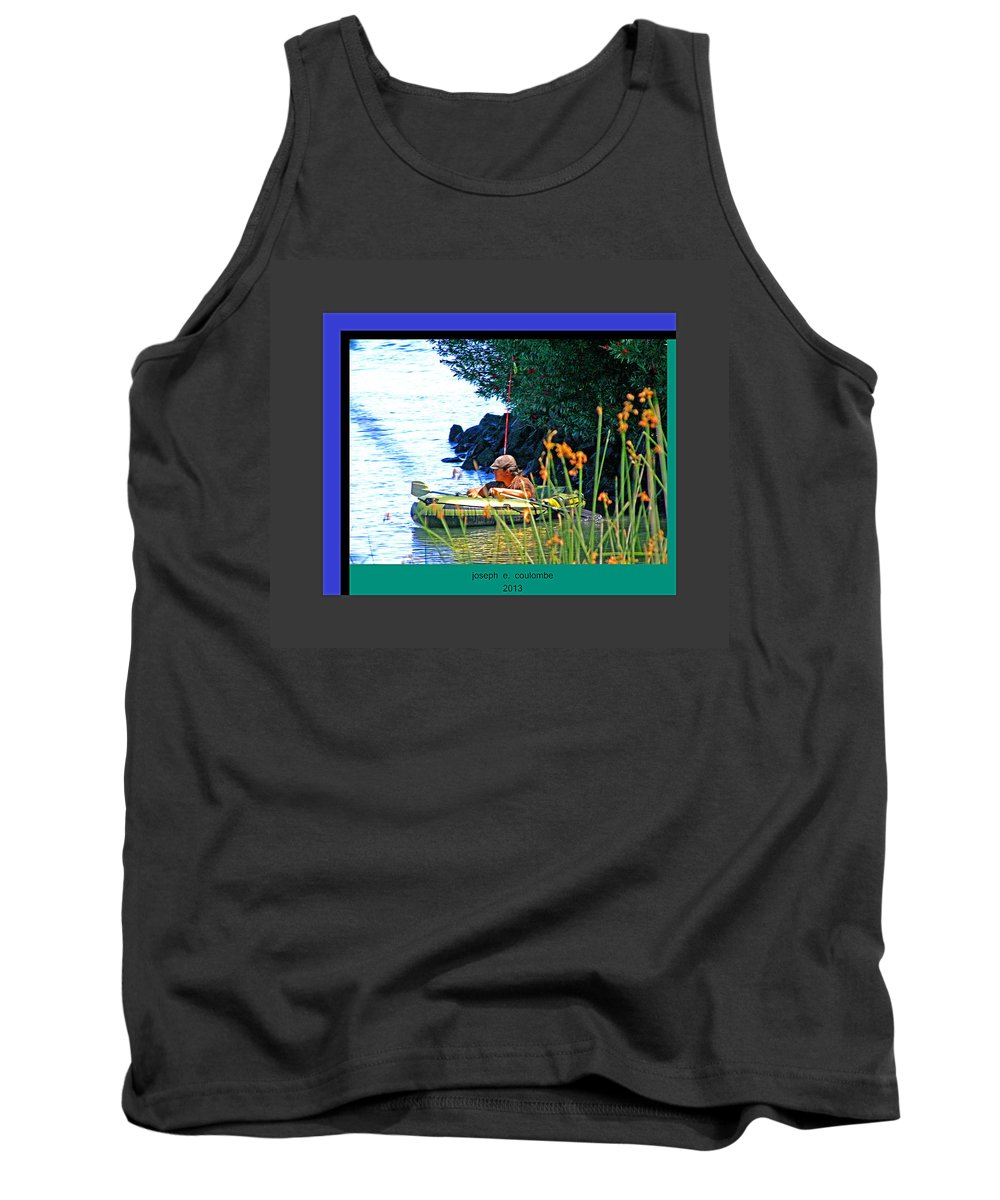 Tube Fishing Tank Top featuring the photograph Fishn My Way by Joseph Coulombe