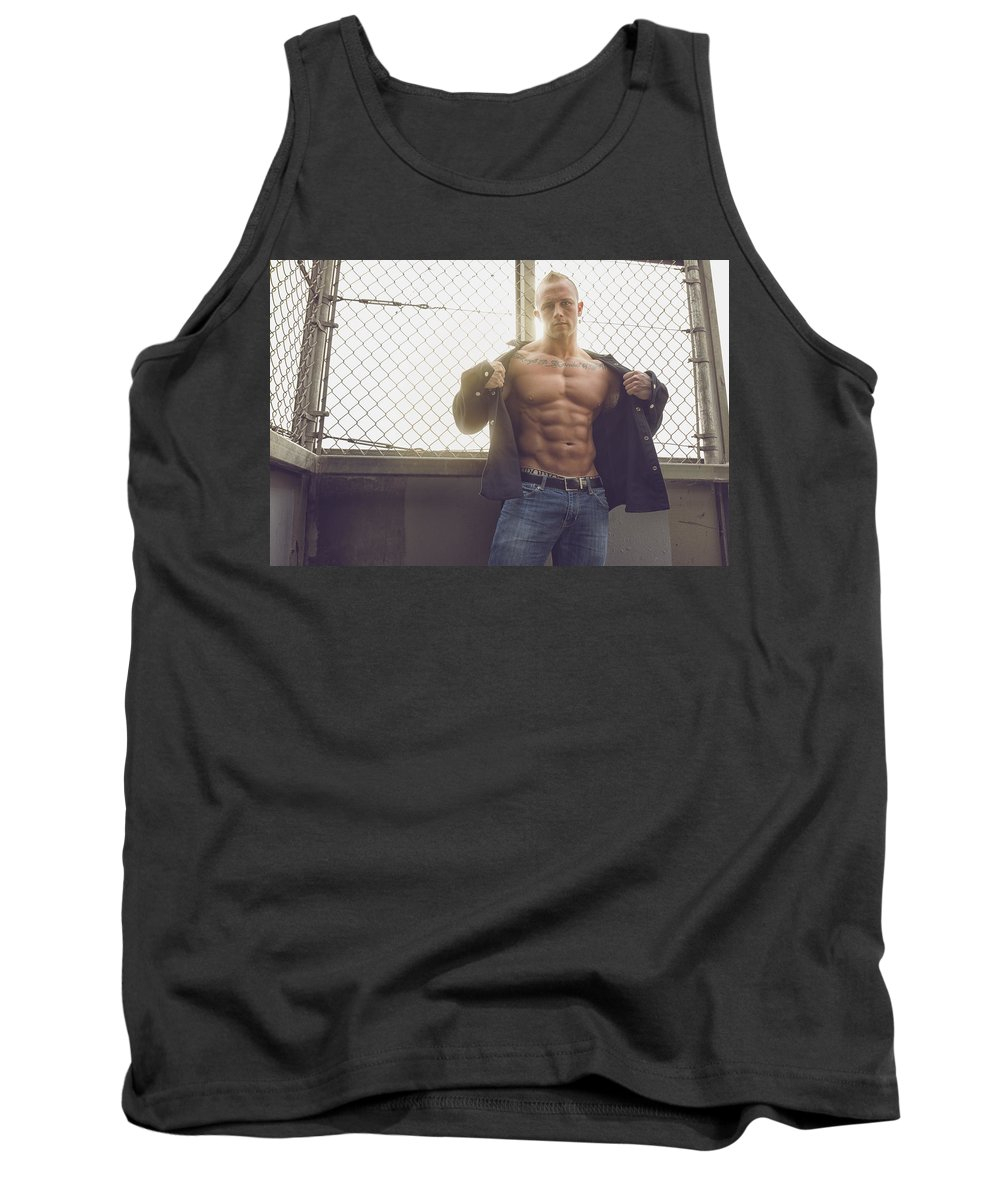 Bombelkie Tank Top featuring the photograph Flash by Marcin and Dawid Witukiewicz