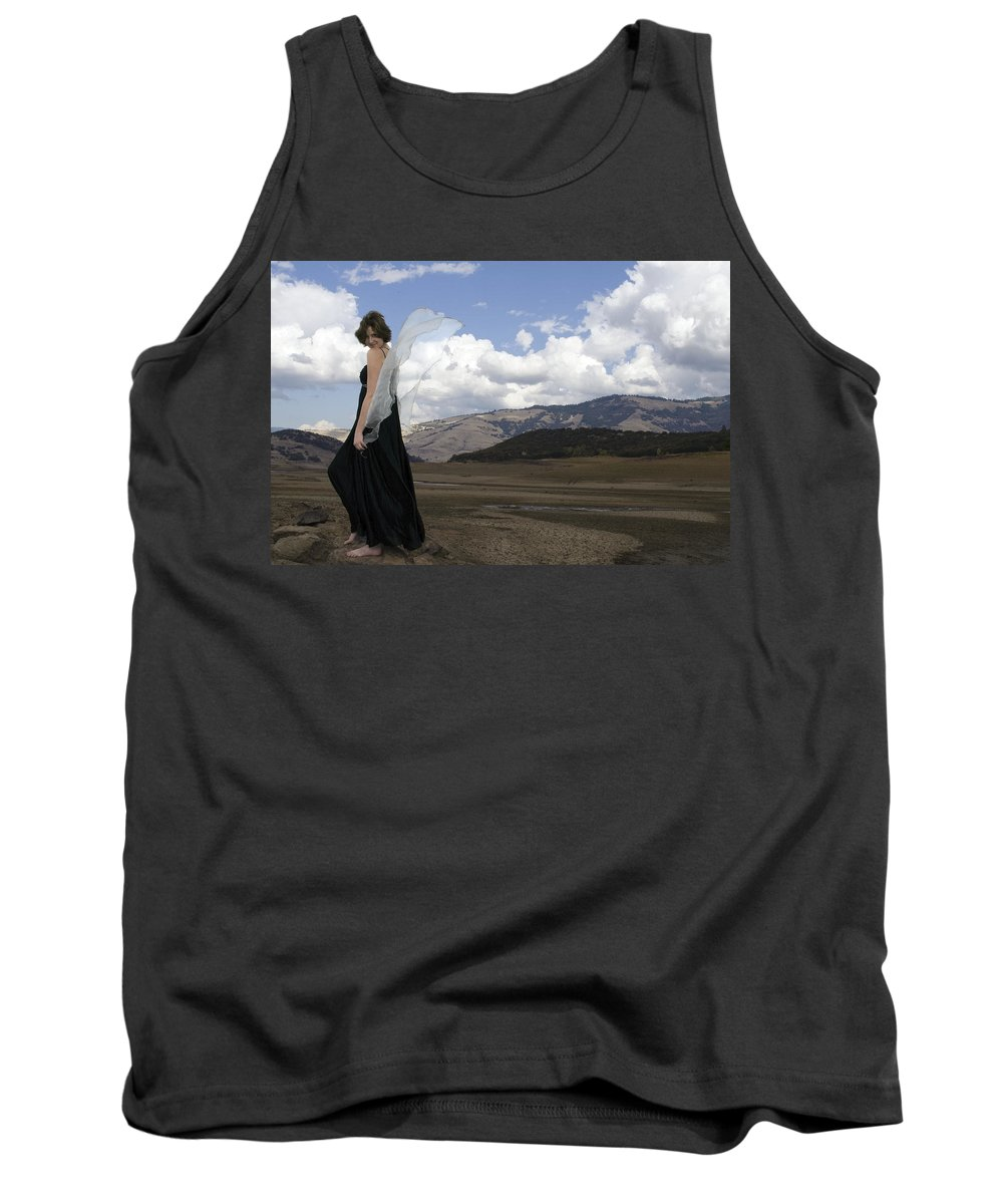 Calley Duvall Tank Top featuring the photograph Flirty Fairy by Teri Schuster