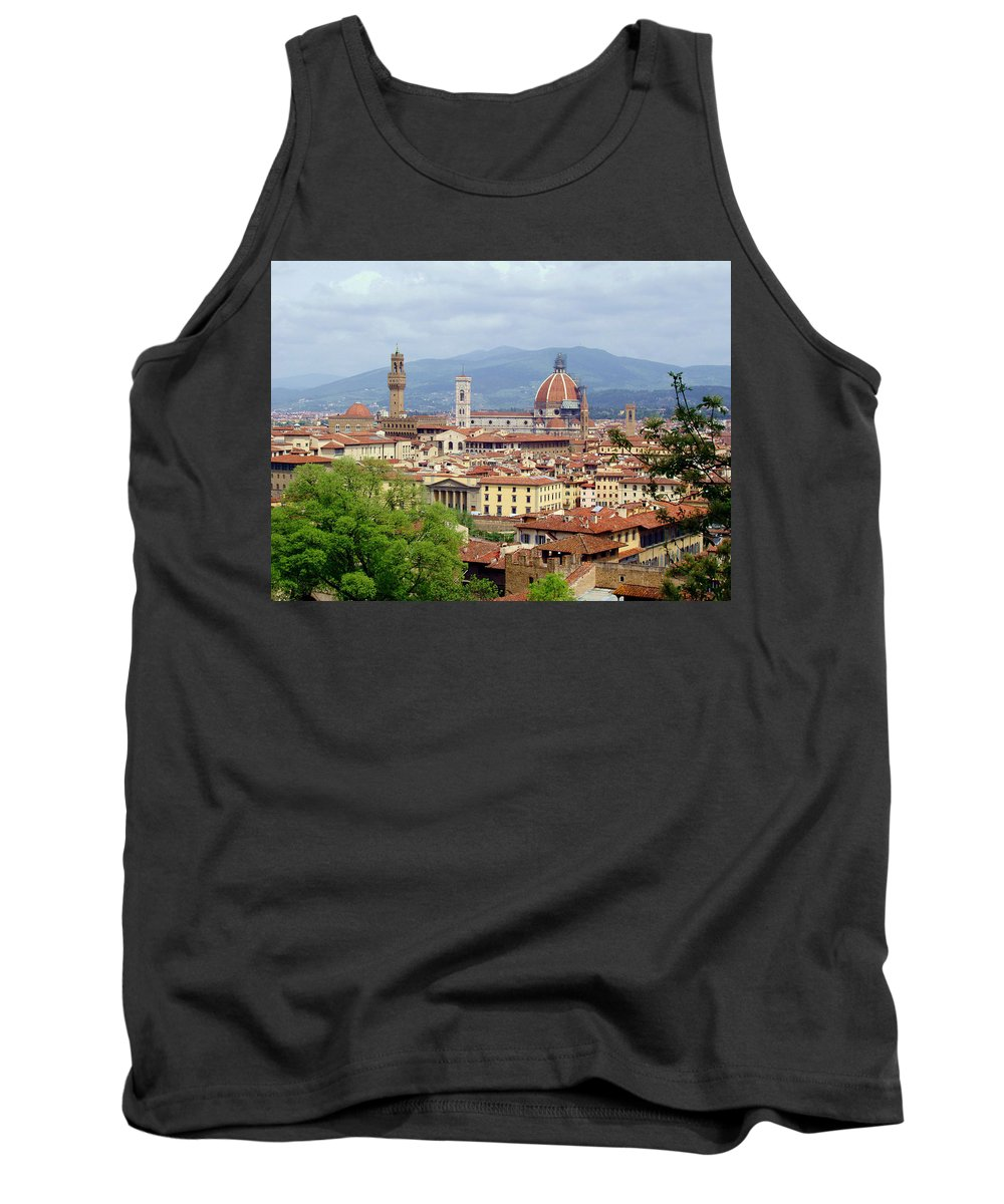 Florence Tank Top featuring the photograph Florence by Ellen Henneke