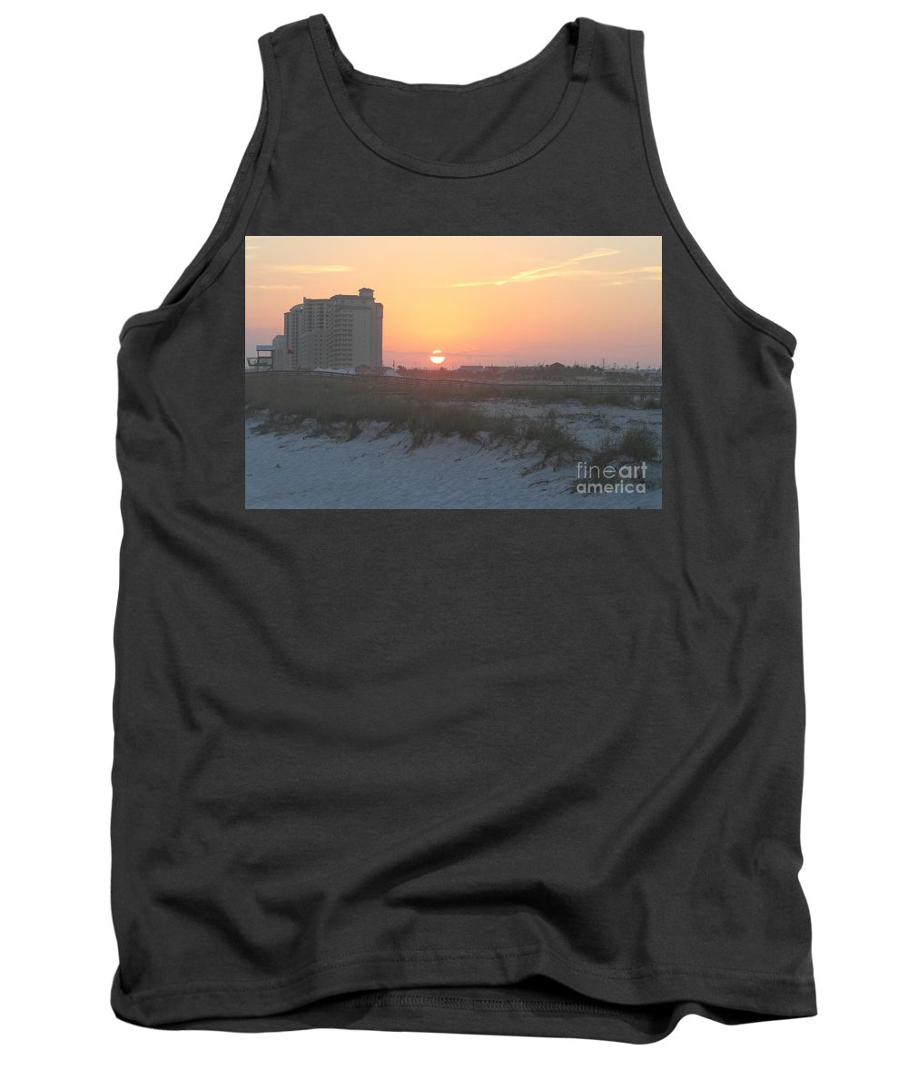 Beach Tank Top featuring the photograph Florida Beach Sunset by Michelle Powell