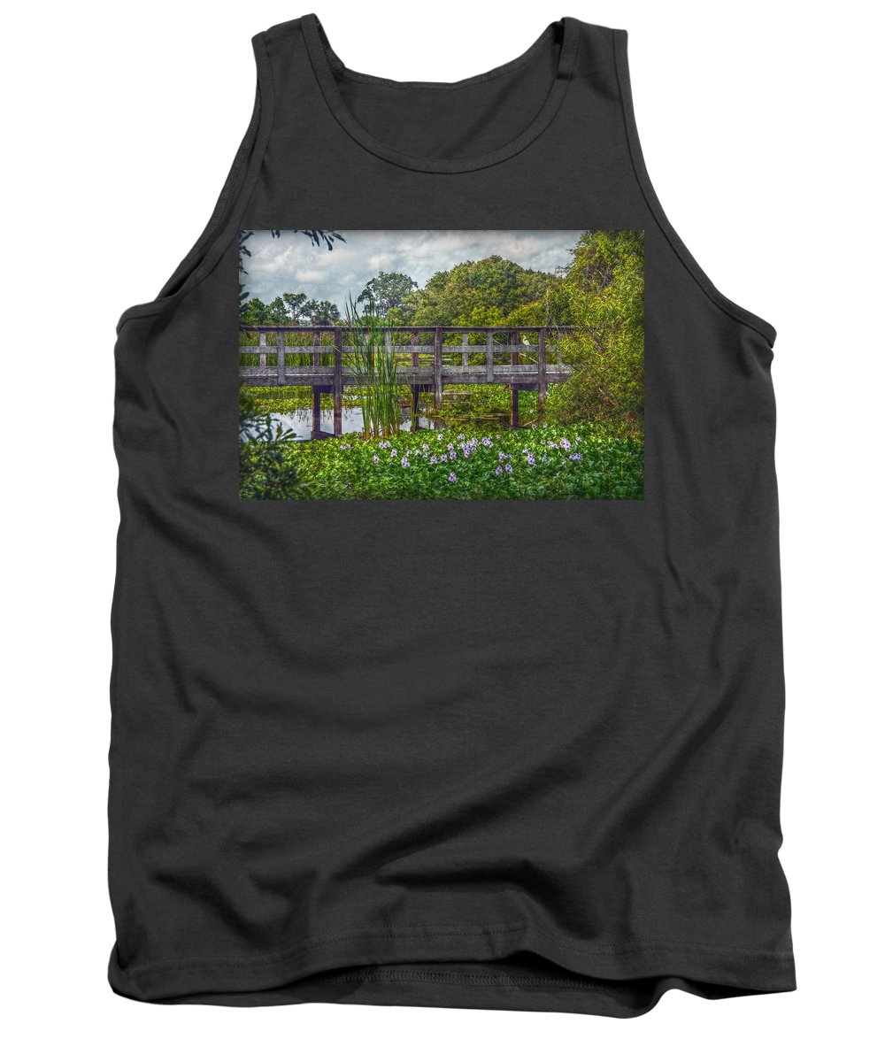 Boyd Hill Nature Park Tank Top featuring the photograph Florida Nature by Hanny Heim