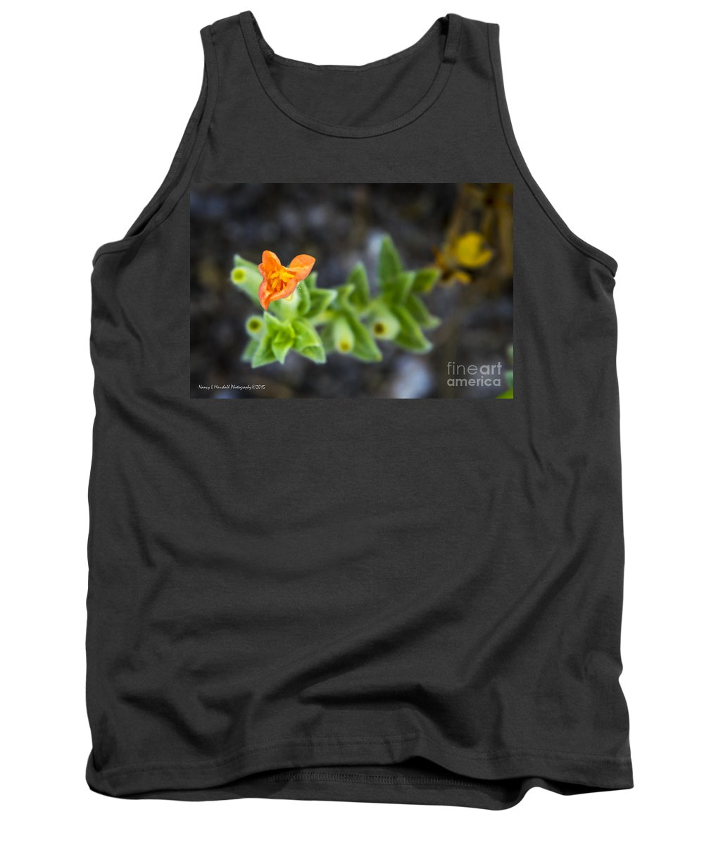 Florida Tank Top featuring the photograph Flower 21 by Nancy L Marshall