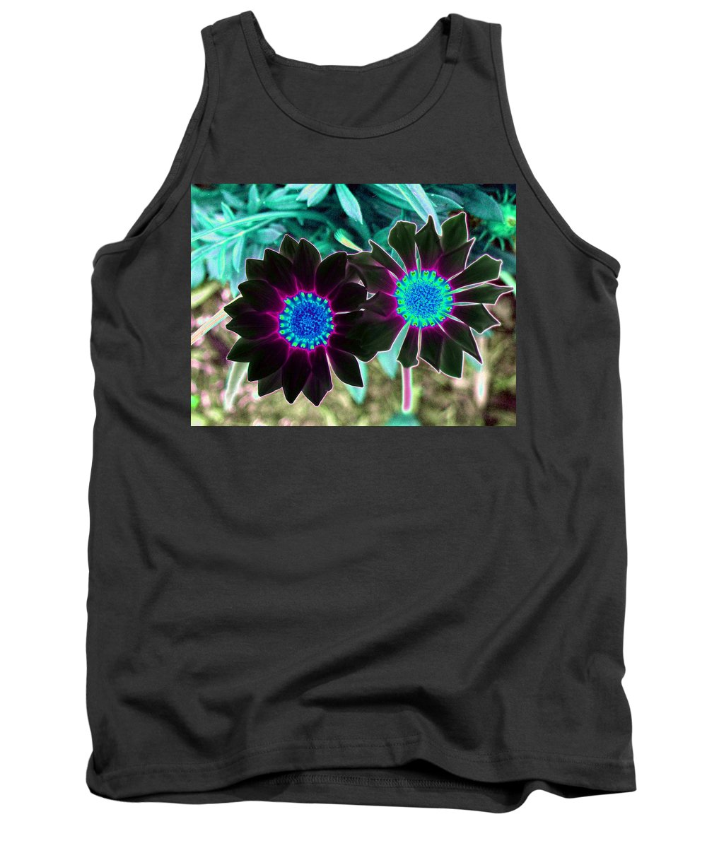 Flower Tank Top featuring the photograph Flower Power 1456 by Pamela Critchlow