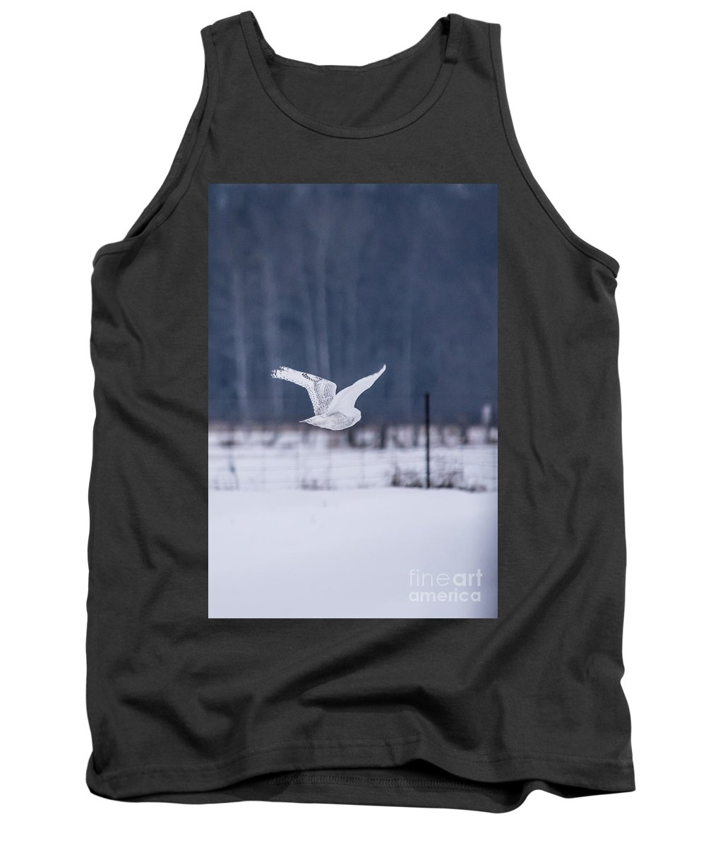 Field Tank Top featuring the photograph Flying Through by Cheryl Baxter