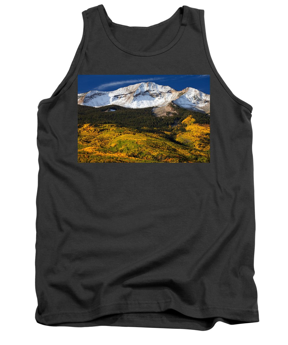 Colorado Landscapes Tank Top featuring the photograph Foothills Of Gold by Darren White
