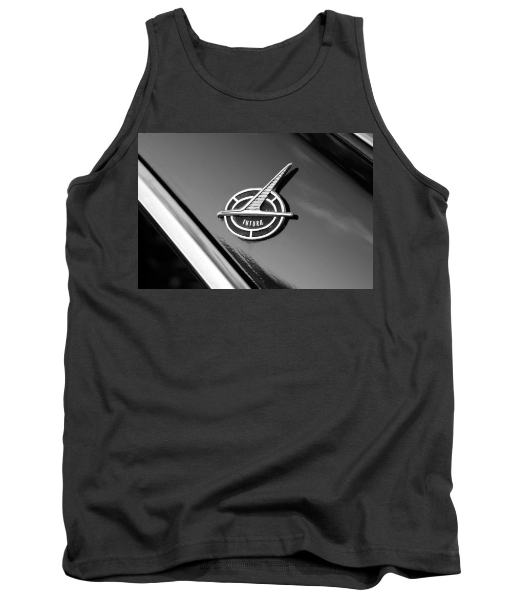 1963 Ford Futura Tank Top featuring the photograph Ford Futura by David Lee Thompson