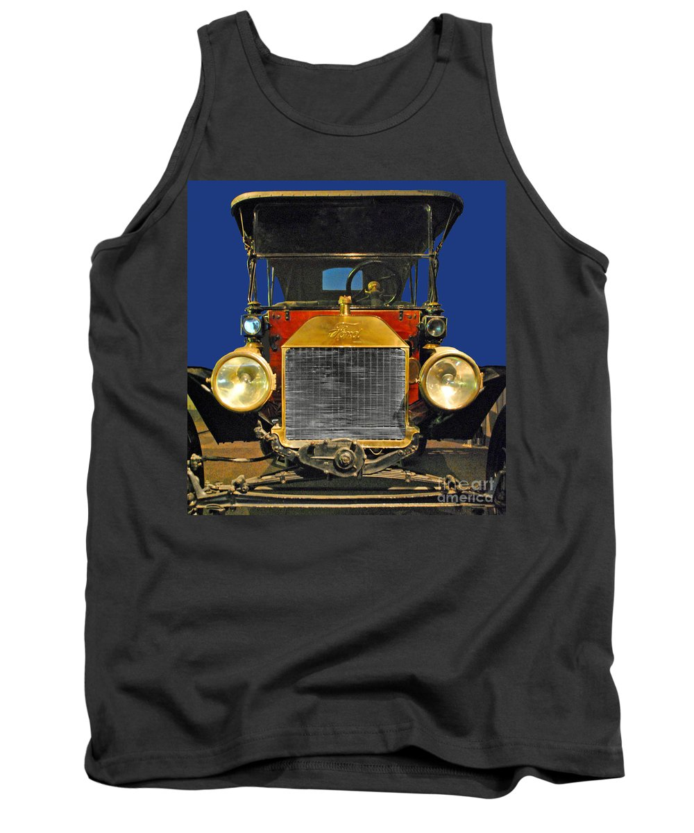 Ford Tank Top featuring the photograph Ford Model T by Jost Houk