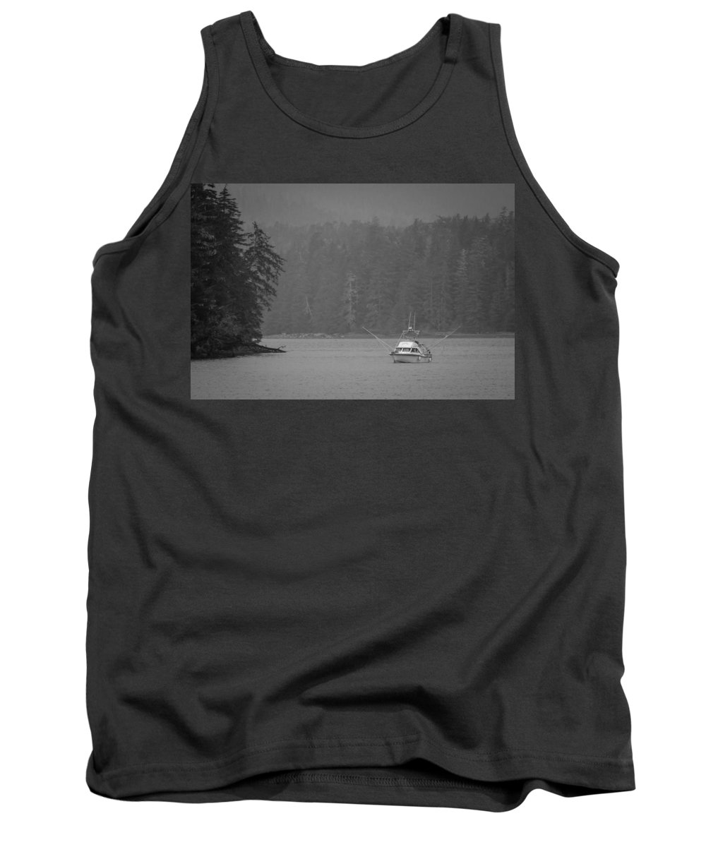 Transportation Tank Top featuring the photograph Forest Fishing by Melinda Ledsome