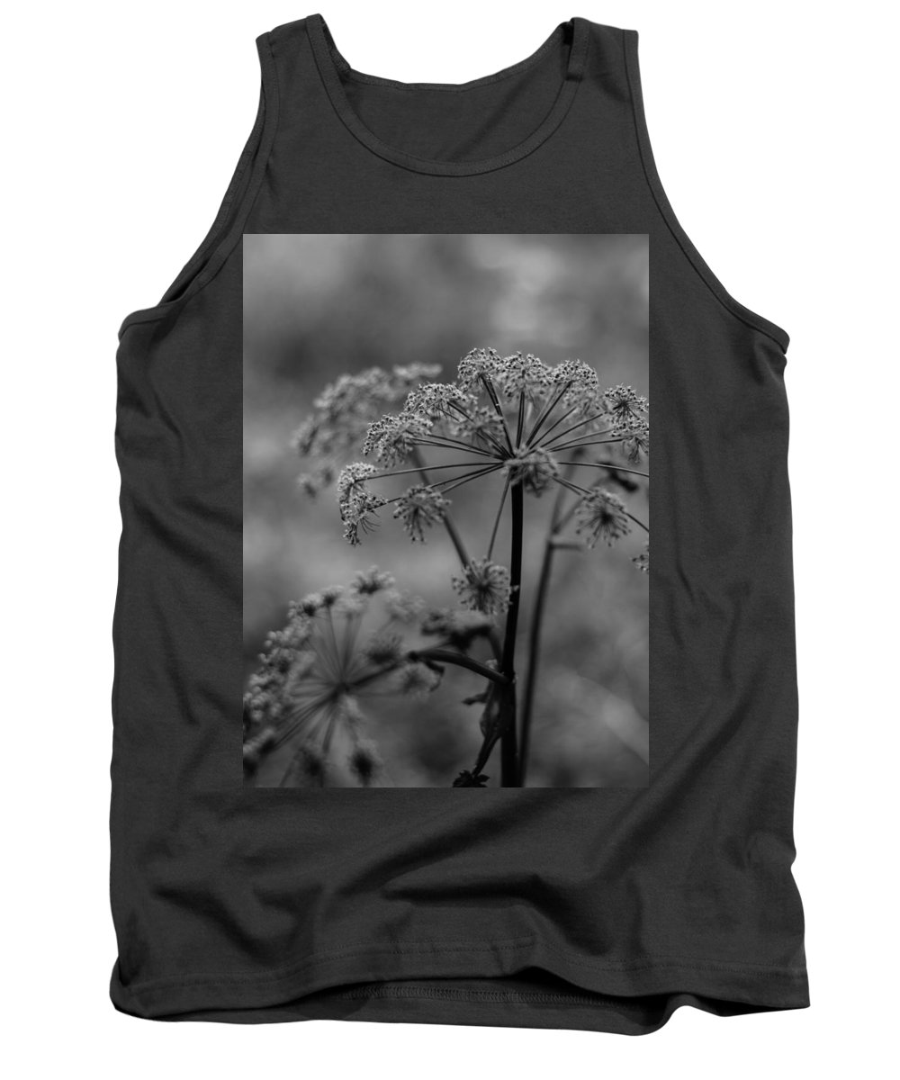 Miguel Tank Top featuring the photograph Forest Wild Flowers by Miguel Winterpacht