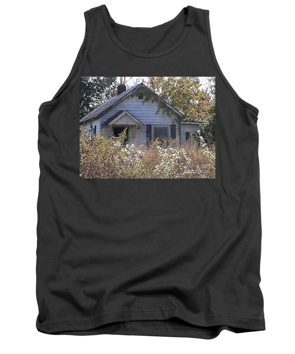 Forgotten Tank Top featuring the photograph Forgottn Places by Fortunate Findings Shirley Dickerson